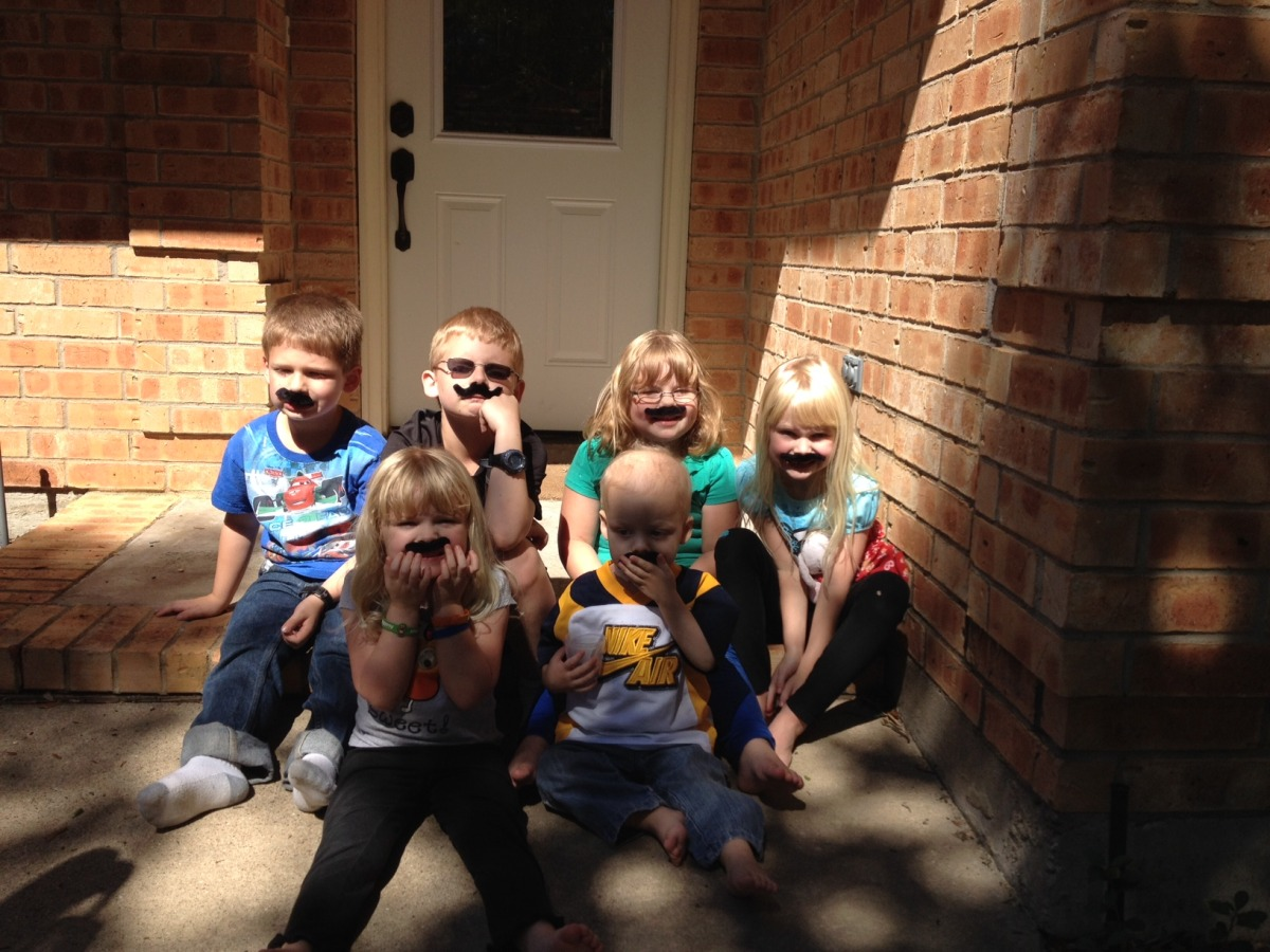Mustache Siblings and Cousins