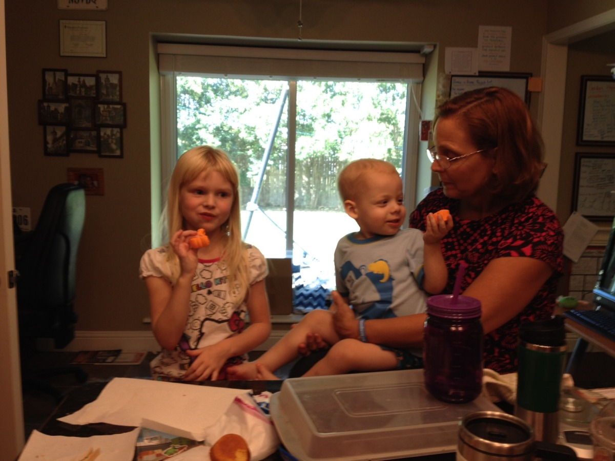 The Marathon Snack Adventure with Amelia, Liam, and Oma